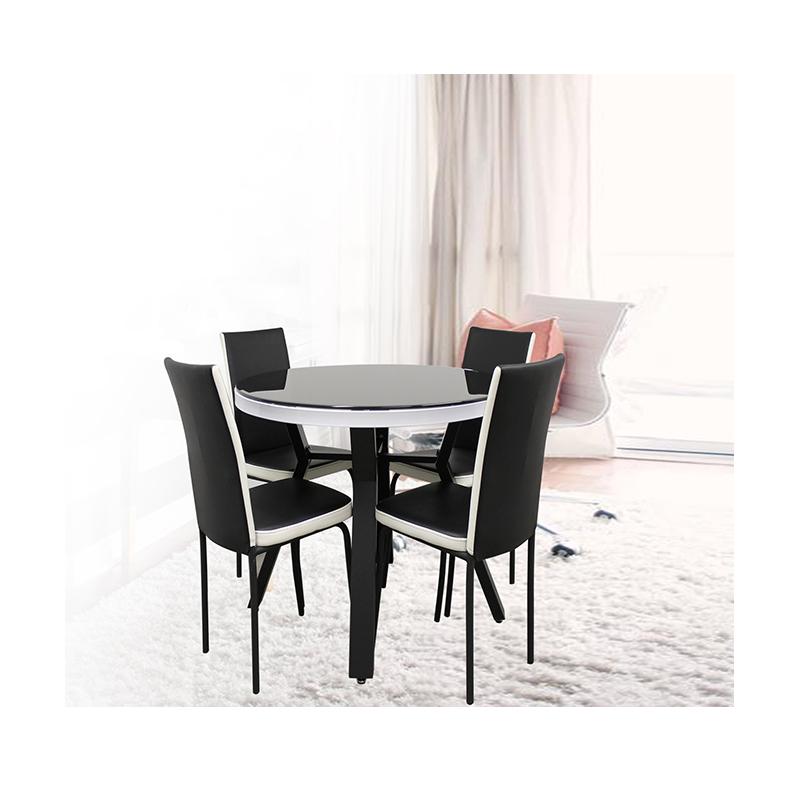 Table Ronde Avec Chaises Cuisine Et Maison La Boutique Du Mobilier
